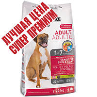 1st Choice (Фест Чойс) с ягненком и океанической рыбой сухой супер премиум корм для взрослых собак, 7 кг