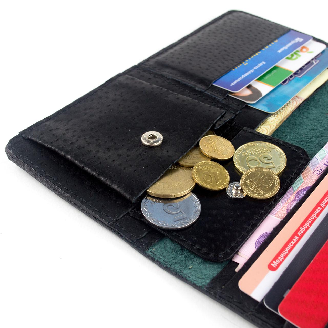 ec0631988a30 Кошелек женский кожаный К1-06 (темно-зеленый): продажа, цена в ...