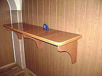 Полка, стол пристенный