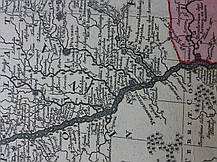 Карта Украины 1740-е годы Turcicarum et Tartaricum, фото 2