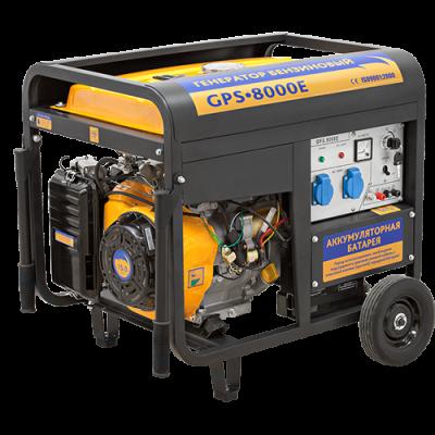 Генератор бензиновый Sadko GPS-8000E (6,5кВт)