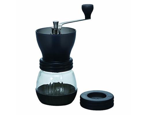 Японская ручная кофемолка Hario Ceramic Skerton с керамическими жерновами и регулировкой уровня помола