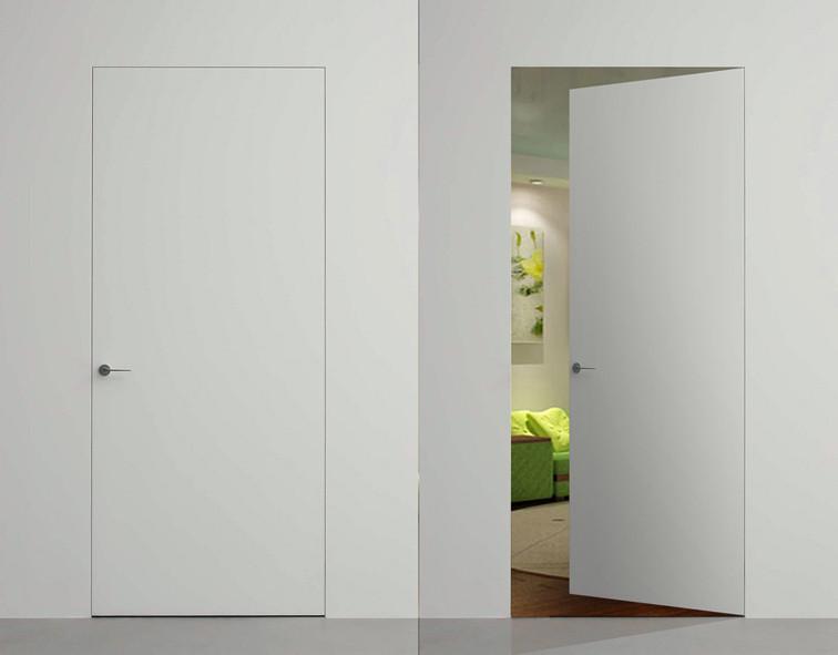 Двери скрытого монтажа грунтованные под покраску