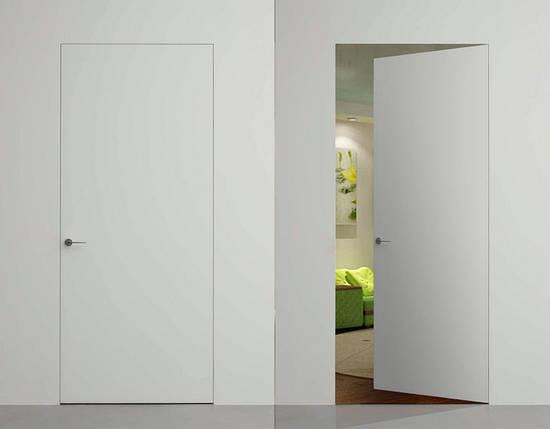 Двери скрытого монтажа грунтованные под покраску, фото 2
