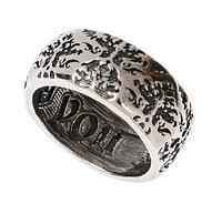 """Кольцо """"Лавинг"""" покрытое серебром (m2643090)"""