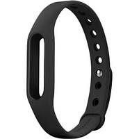 Силиконовый ремешок для фитнес-браслета Xiaomi Mi Band 2 - Black