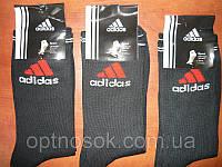 Носок мужской  Adidas гладь. , фото 1