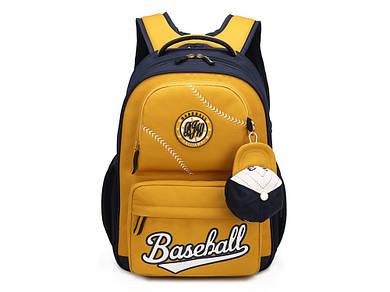 Рюкзак Baseball Yellow