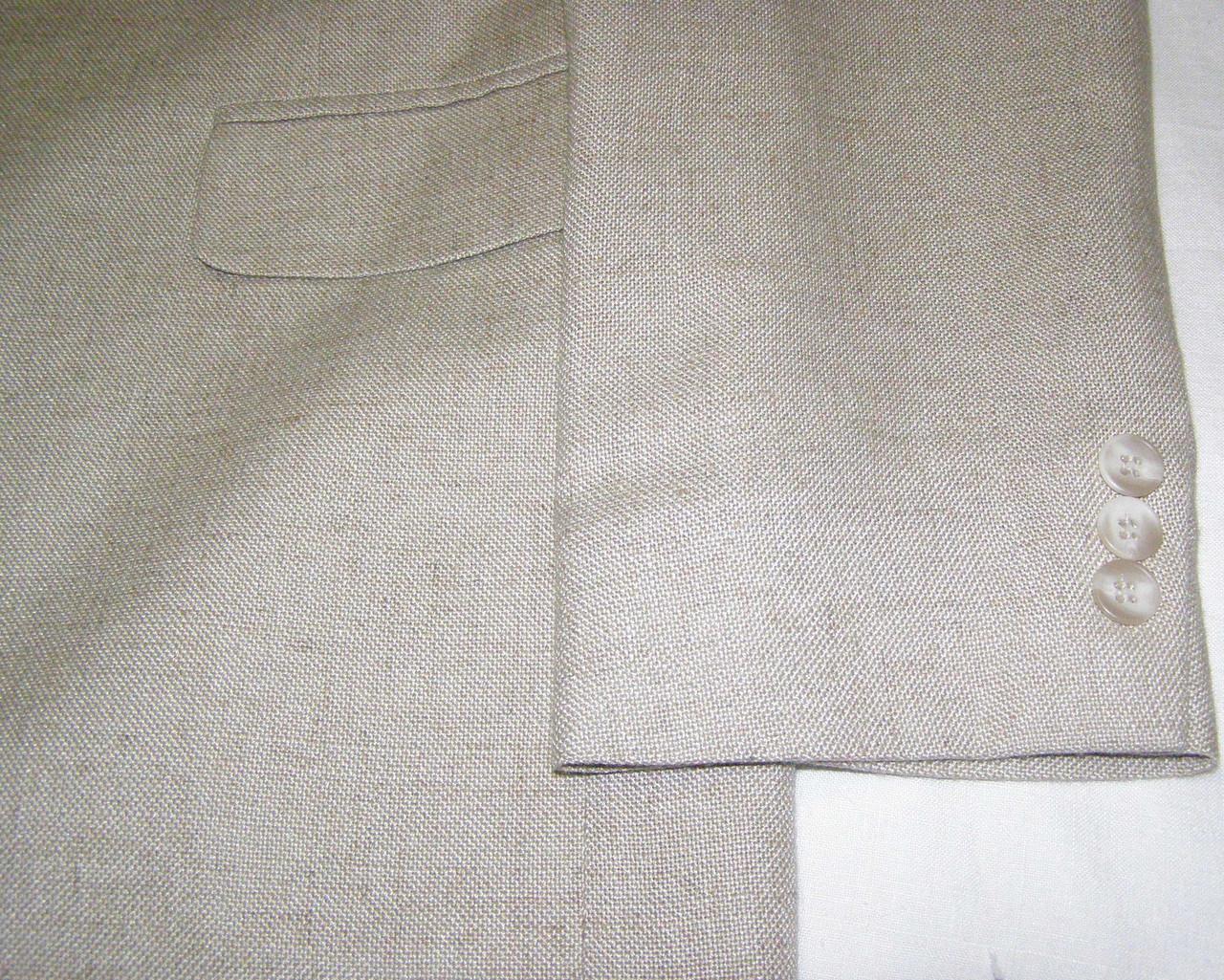 Пиджак льняной HAGGAR CLOTHING (р.50)