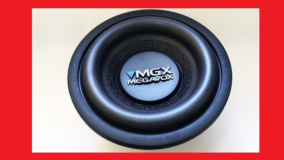 """10"""" Сабвуфер Megavox MX-W10B 600W"""