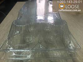 Упаковка для куриных яиц на 10 штук. Пластиковая и прозрачная, Материал РЕТ, (плотная и эластичная)