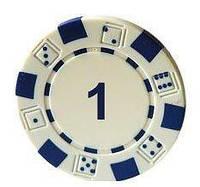 """Набор для покера с номиналом """"1"""" - 25 штук; MA01"""