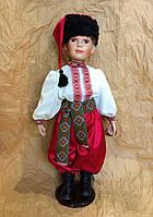 Кукла мальчик в украинском народном костюме, кукла-украинец (70 см.)