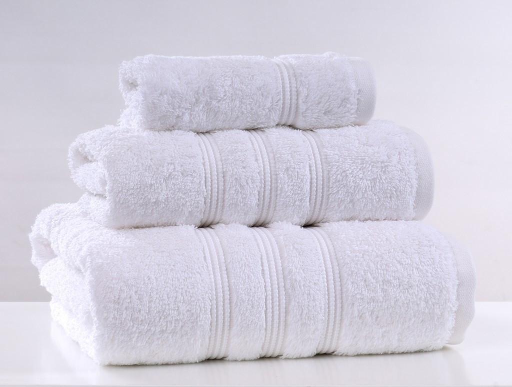 Полотенце махровое Elegant 30х50 белый Irya