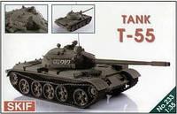 1:35 Сборная модель танка Т-55, Скиф МК233
