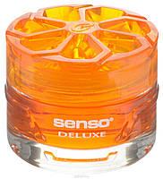 """Автомобильный ароматизатор гелевый на панель Dr.Marcus""""Senso Delux"""" Citrus Dream"""