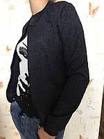 Женская кофта на замке Крутой бомбер, размеры S M L