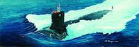 1:144 Сборная модель подводной лодки USS SSN-21 'Seawolf', Trumpeter 05904