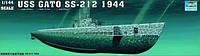 1:144 Сборная модель подводной лодки USS SS-212 'Gato', Trumpeter 05906
