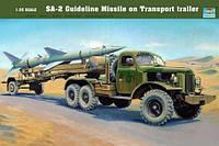 1:35 Сборная модель ЗиЛ-157 и ЗРК С-75 'Двина' (SA-2), Trumpeter 00204