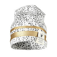 Детская теплая шапка Elodie Details - Gilded Dots of Fauna, 6-12 m, фото 1