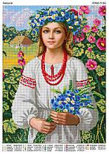 Схема под вышивку бисером Украинка