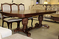 Стол обеденный раздвижной деревянный серии 2-5-1-217, фото 1