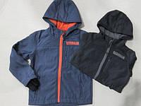 Термо куртка на флисовой подкладке   для мальчиков 4 / 12 лет