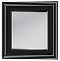 Зеркало Treviso TM-80  Botticelli черное серебро