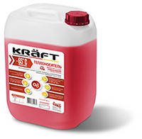 Бытовой антифриз для отопительных систем KRAFT-30°C ECO (пропиленгликоль)