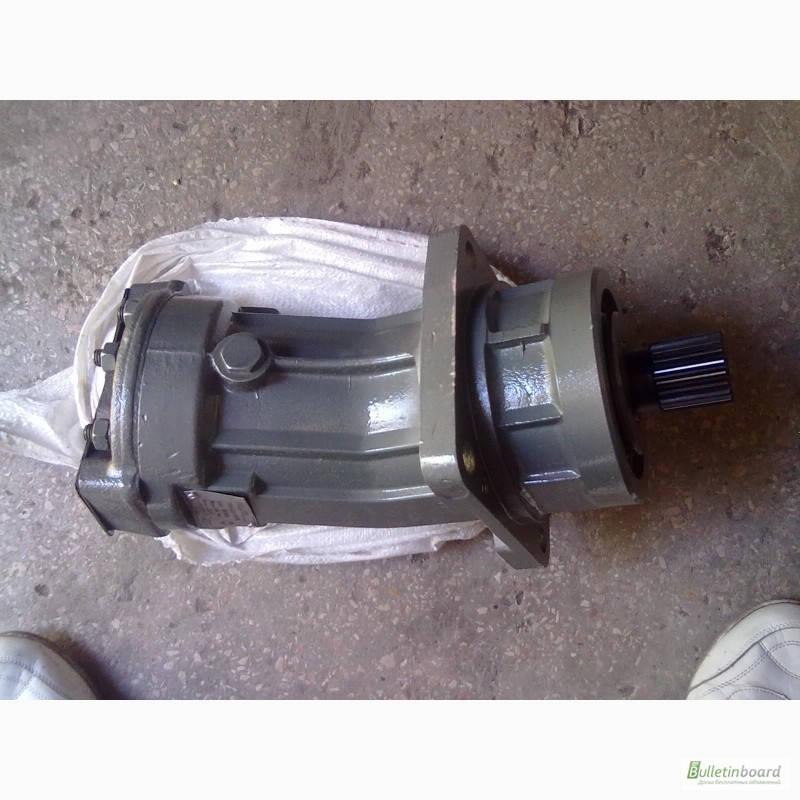 Аксиально-поршневой нерегулируемый гидромотор 310.3.112.01.56, аналог 2МГ 112/32М.1, (вал - шпонка), фото 2