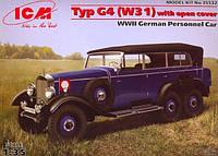 1:35 Сборная модель автомобиля Mercedes-Benz Typ G4 (W31), ICM 35532