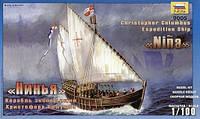 1:100 Сборная модель каравеллы 'Нинья' ('Санта-Клара'), Звезда 9005