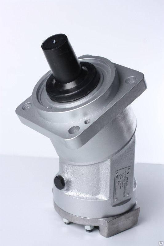 Аксиально-поршневой нерегулируемый гидромотор 310.3.112.00.56, аналог 2МГ 112/32М, (вал - шлицевой), фото 2