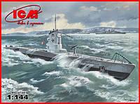 1:144 Сборная модель подводной лодки U-boat Type IIB (1939 г.), ICM S.009