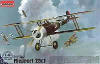 1:48 Сборная модель самолета Nieuport 28C1, Roden 403