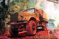 1:35 Сборная модель автомобиля КрАЗ-214Б, Roden 804