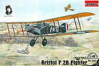 1:48 Сборная модель самолета Bristol F.2B, Roden 425