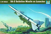 1:35 Сборная модель ЗРК С-75 'Двина' (SA-2), Trumpeter 00206