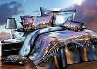 Двуспальный набор постельного белья 180*220 из Ранфорса №306 Черешенка™