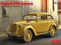 1:35 Сборная модель автомобиля Opel Kadett K38, ICM 35478