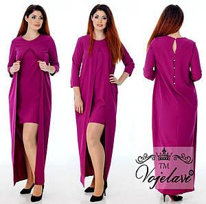 Женское платье №76-484\1 БАТАЛ