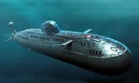 1:350 Сборная модель подводной лодки проекта 671РТМ(К) 'Щука', Hobby Boss 83529