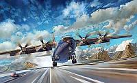 1:72 Сборная модель самолета Ан-12БК 'Аэрофлот', Roden 048