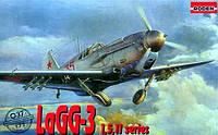 1:72 Сборная модель самолета ЛаГГ-3 серии 1,5,11, Roden 037