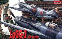 1:72 Сборная модель самолета ЛаГГ-3 серия 66, Roden 039