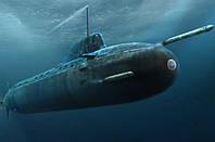 1:350 Сборная модель подводной лодки проекта 885 'Ясень', Hobby Boss 83526