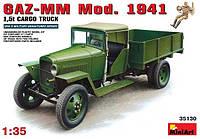 1:35 Сборная модель автомобиля ГАЗ-ММ 'Полуторка' (1941 г.), MiniArt 35130