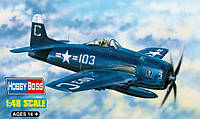 1:48 Сборная модель самолета F8F-2B 'Bearcat', Hobby Boss 80358