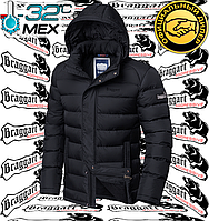 Зимний пуховик на меху Braggart Aggressive - 2713#2712 черный